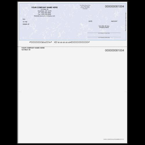L81004B - Multi-Purpose Top Business Check (One Perf)