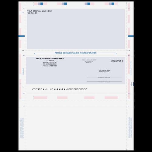 L90311 - Preprinted Pressure Seal Check