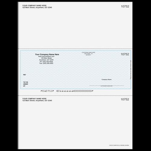 L1599 - Multi-Purpose Middle Business Check