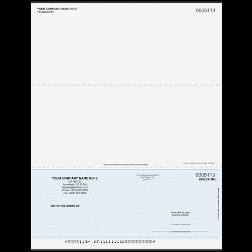 5113 - Multi-Purpose Bottom Business Check