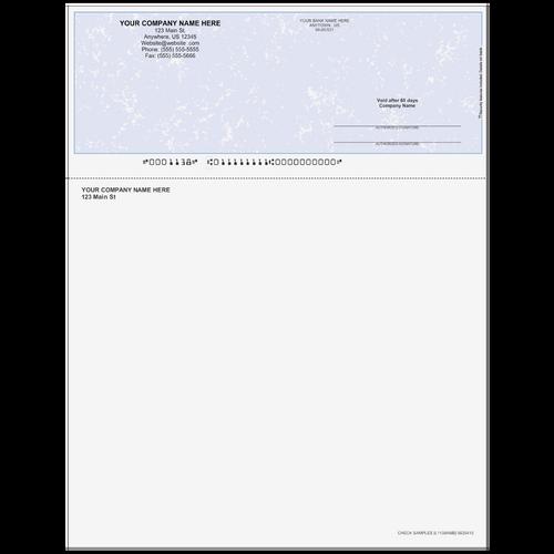 L1138A - Multi-Purpose Top Business Check