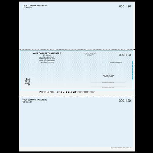L1120 - Multi-Purpose Middle Business Check