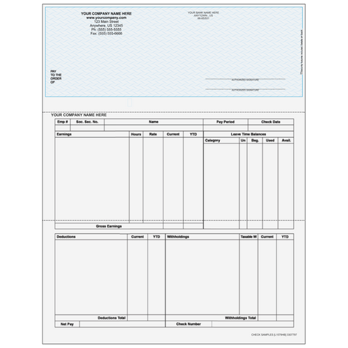 L1579 - Payroll Top Business Check