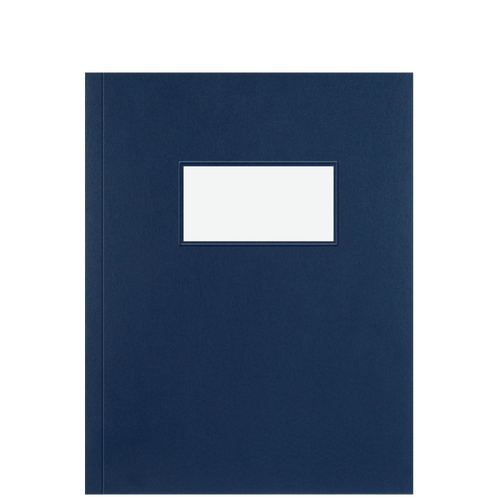 RC201WX - Report Folder Set Navy with Window