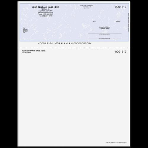 L1513B - Multi-Purpose Top Business Check (One Perf)