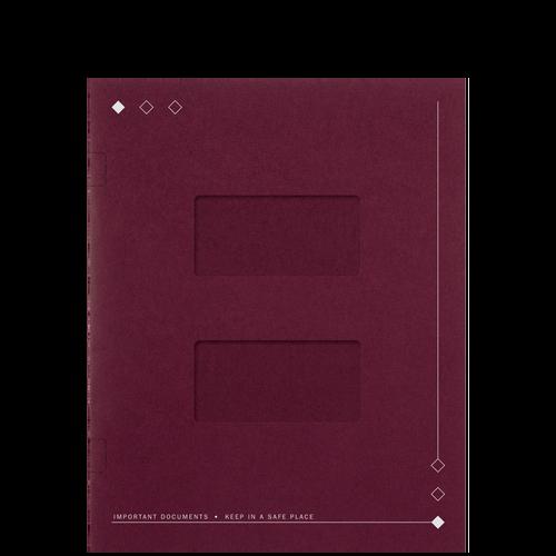 LA40XX - Side Staple Folders with Large Windows