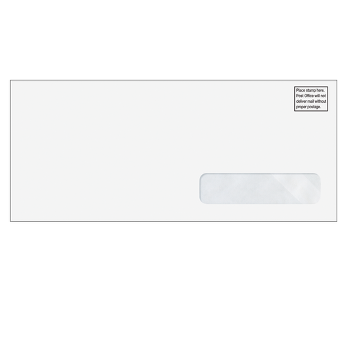 LA500 - Estimate Filing Envelope with Window for ProSeries and Lacerte Software