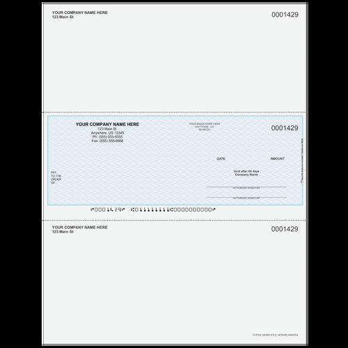 L1429 - Multi-Purpose Middle Business Check