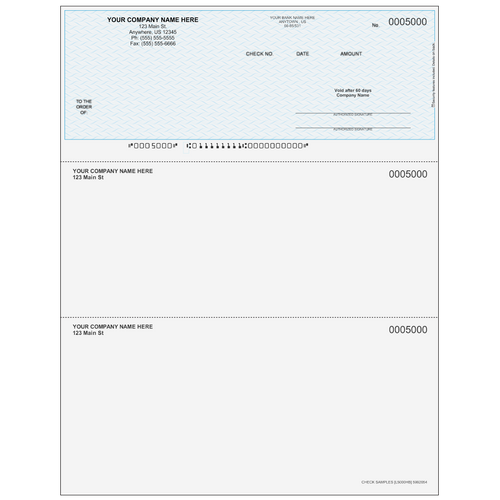 L5000 - Multi-Purpose Top Business Check