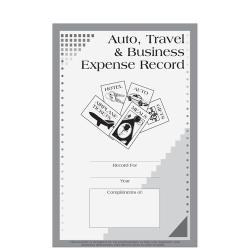 A015 - Auto, Travel and Business Expense Record Booklet