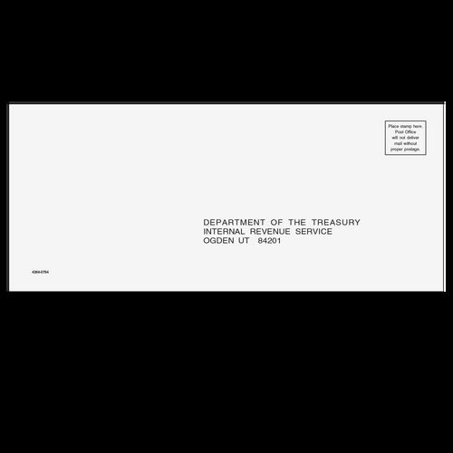 4364 - 1040, 1065, 1120, 1120 #10 UT Envelope