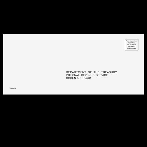 4364 - 1040, 1065, 1120, 1120-S Envelope