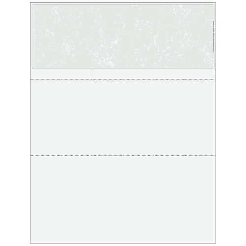 MARBLETXX - Essential Blank Top Business Check with Marble Background