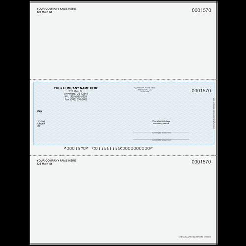 L1570 - Multi-Purpose Middle Business Check
