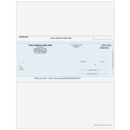 L1261A - Payroll Middle Business Check