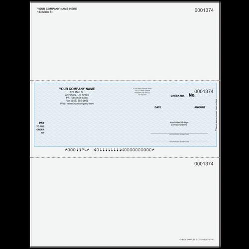 L1374A - Multi-Purpose Middle Business Check