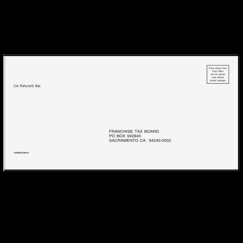 CARNS410 - California Refund Envelope