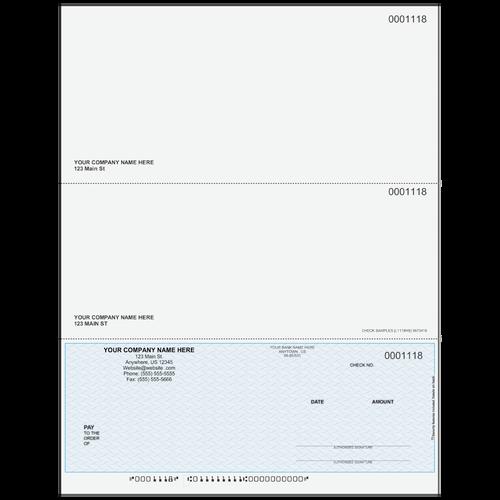 L1118 - Multi-Purpose Bottom Business Check