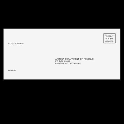 AZEST10 - AZ Estimate Envelope 3 7/8 x 8 7/8