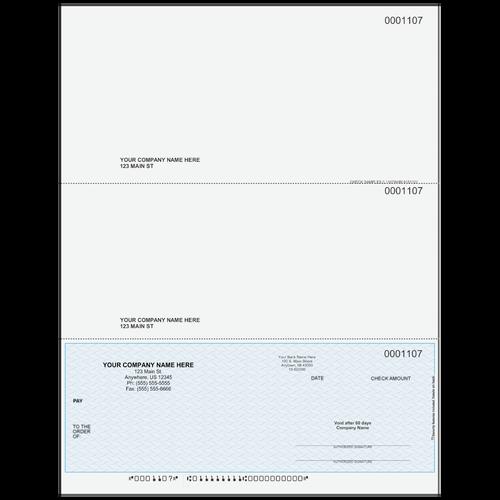 L1107A - Multi-Purpose Bottom Business Check