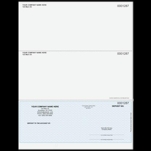 L1287 - Advice of Deposit Bottom Check