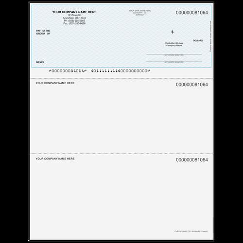 L81064 - Multi-Purpose Top Business Check