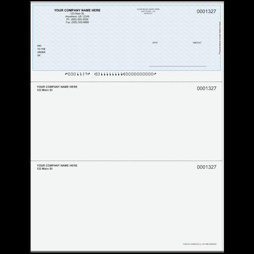 L1327 - Multi-Purpose Top Business Check
