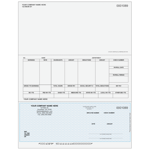 L1089 - Payroll Bottom Business Check