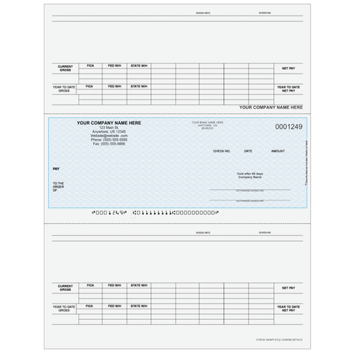 L1249 - Payroll Middle Business Check
