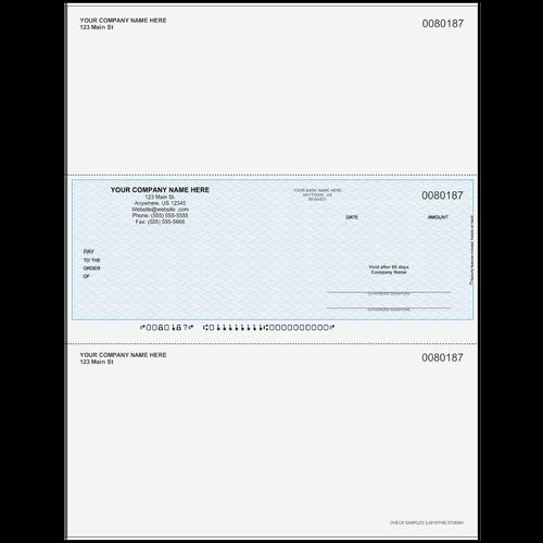 L80187 - Multi-Purpose Middle Business Check