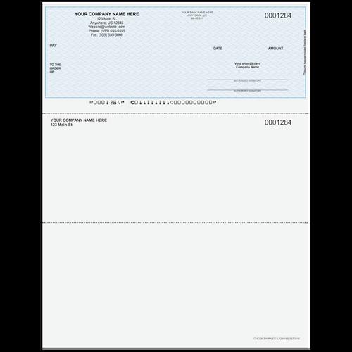L1284 - Multi-Purpose Top Business Check