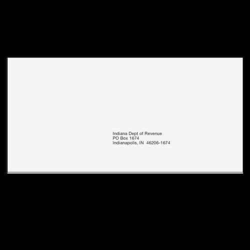 INEF410 - Indiana State E-File Envelope