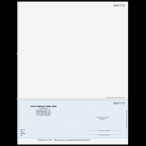L1173 - Multi-Purpose Bottom Business Check (One Perf)