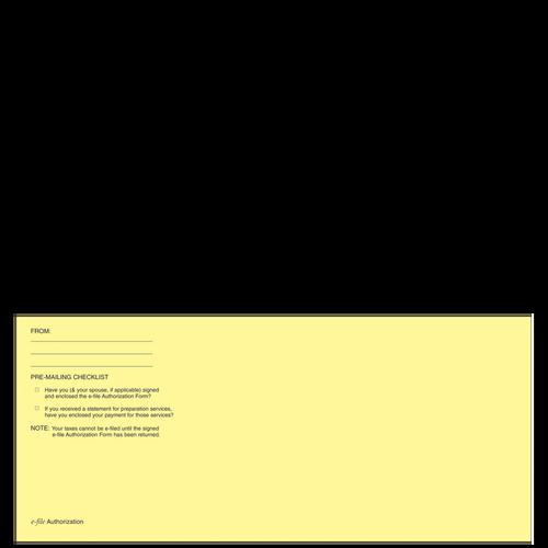 E024 - E-File Authorization Envelope