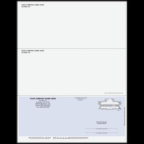 L1266 - Multi-Purpose Bottom Business Check