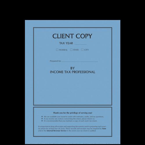 8042X - Client Copy Side-Staple Folder
