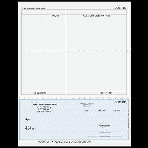 L1469 - Accounts Payable Bottom Business Check