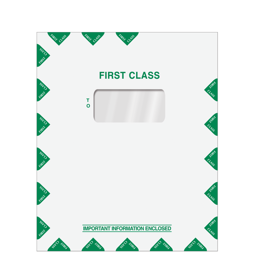 LA700 - First Class Mailing Envelope with One Large Window