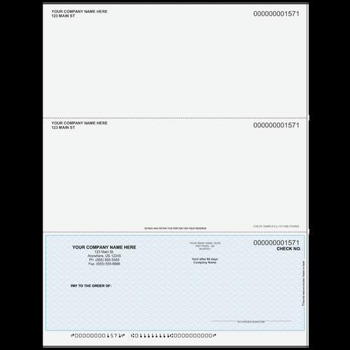 L1571 - Multi-Purpose Bottom Business Check