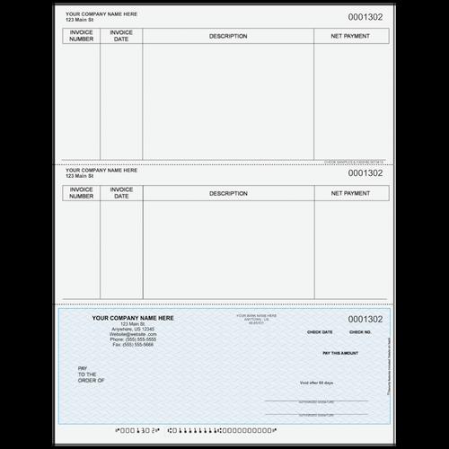 L1302 - Accounts Payable Bottom Business Check
