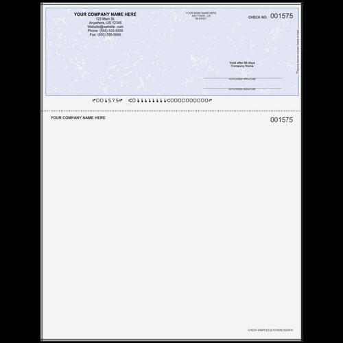 L1575 - Multi-Purpose Top Business Check (One Perf)