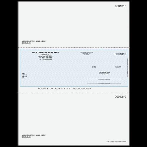 L1310 - Multi-Purpose Middle Business Check