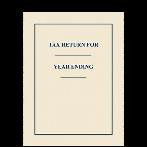 FOLDER - Tax Return Folder