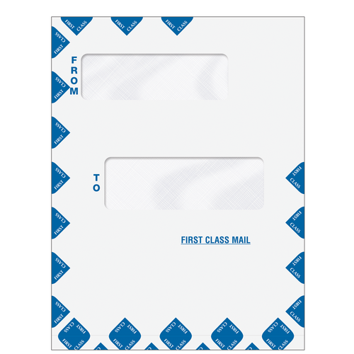80015EXP - Offset Window First Class Mail Envelope (Expandable)