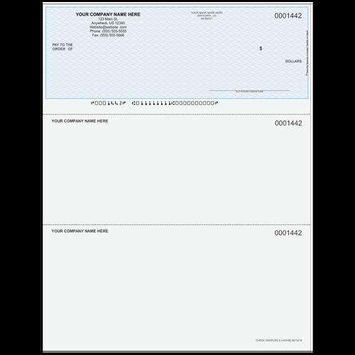 L1442 - Multi-Purpose Top Business Check