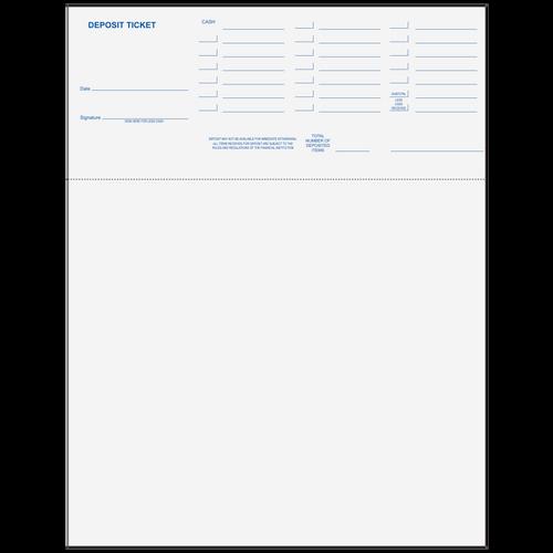 "80707 - 11"" 24# Deposit Ticket"