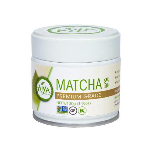 Premium Matcha Tea Powder, 30 gram, single tin