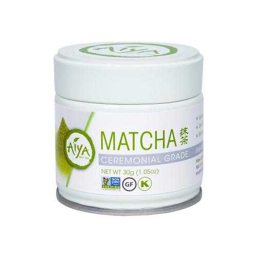 Ceremonial Matcha Tea Powder, 30 gram, single tin
