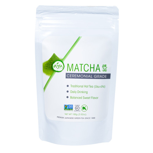 Ceremonial Matcha tea, 100 gram, single bag