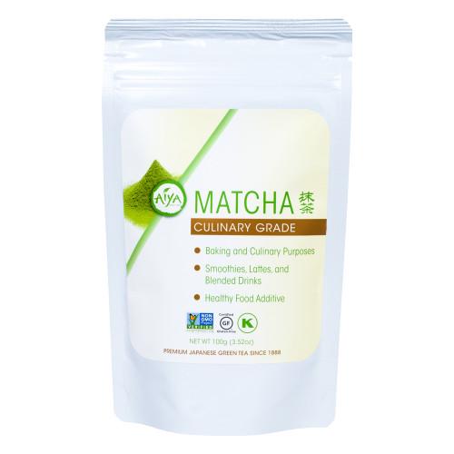 Culinary Grade Matcha tea, 100 gram, single bag